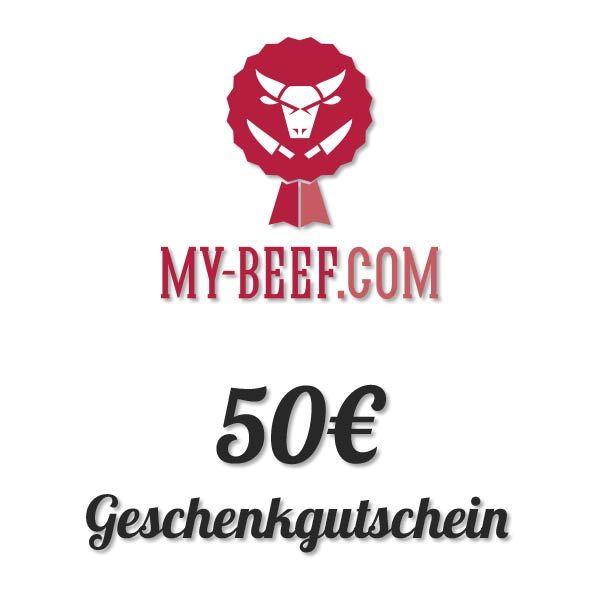 50€ My-Beef Gutschein